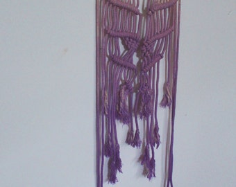 Macrame Wall Hanging Ombre Dyed