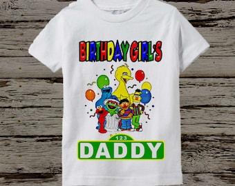 Sesame Street Dad Shirt - Sesame Street Dad Birthday Shirt