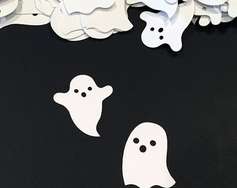 Ghost Confetti | Fall Decor | Halloween Wedding Decor | Halloween Party Decor | Autumn Wedding Decor | Halloween Baby Shower | Ghost Decor