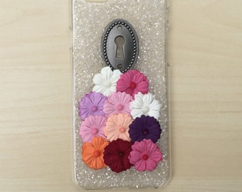 iPhone 6 Case Glitter iPhone 6 Case Floral tumblr iPhone 6 Case Cute iPhone 6 Case iPhone 6 Case Handmade iPhone 6 Case SALE iphone 6 Case