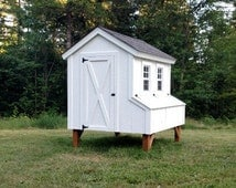 5'X6' Chicken Coop Plans (PDF File Instant Download)