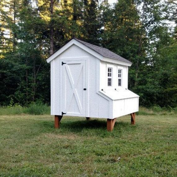 5 39 x6 39 chicken coop plans pdf file instant download by for Simple chicken coop plans for 6 chickens