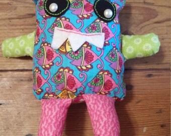 Handmade Stuffed Monster