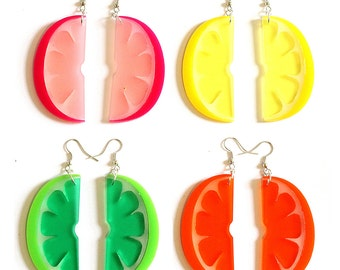 Citrus Earrings - various colours