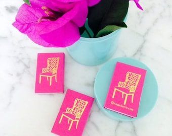 CHINOISERIE CHAIR PINK Matches