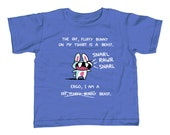 Fat Fluffy Bunny Beast Kids T-Shirt - Cute Funny Rabbit TShirt - Youth and Toddler Sizes