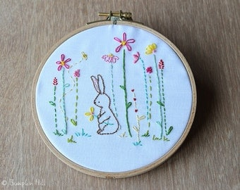 Garden Delights - Hand Embroidery PDF Pattern