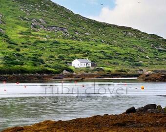 Fishing Buoys, Ring of Kerry, Ireland, Nautical Decor, Irish Cottage, Angling Art, Irish Pub Photo, Munster, Ireland Decor, Co. Kerry, Green