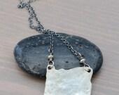 Custom Oregon Love Necklace in Sterling Silver