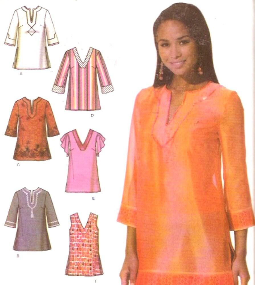 Boho Tunic Pattern Boho Chic Tunic Top Blouse