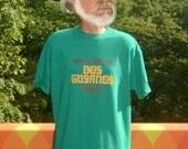 vintage 80s t-shirt you'll love DOS CUSANOS tequila mezcal liquor tee XL drinks