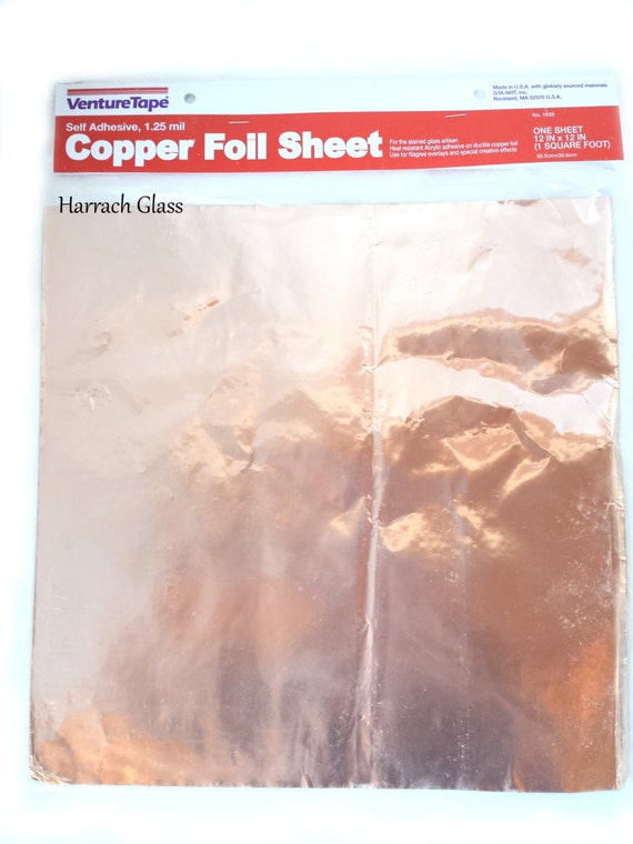 Leaded Copper Sheets : Copper foil sheet inches by harrachglass on