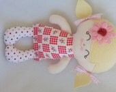 My friend RoseMarie--a handmade cloth doll