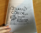 Journal Comics zine! Volume 1 - 50 pages of daily diary comics