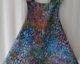 Reversible Sundress - Batik Petals