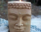 BUDDHAful Sculpted Tea Light Candle Holder