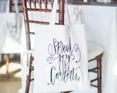 Swag Bag for All Occasions Confetti Tote Bag- Spread Joy Like Confetti