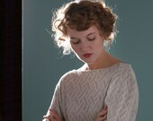 SALE: Bell Sleeve Blouse - 'Starshine' Lurex Blouse