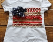 4th of July Outfit, American Flag Shirt, 4th of July Shirt for Girls, 4th of July Shirt, Independence Day, Patriotic Shirt, USA Shirt