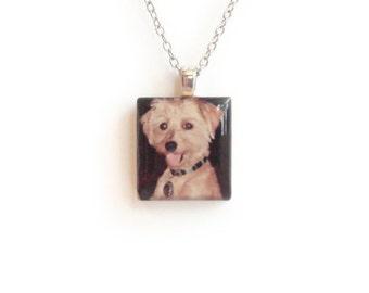 Custom Instagram Photo Necklace - Keepsake Photo Jewelry - Hipstamatic - Photo Necklace - Custom Photo Jewelry - Dog Photo Necklace