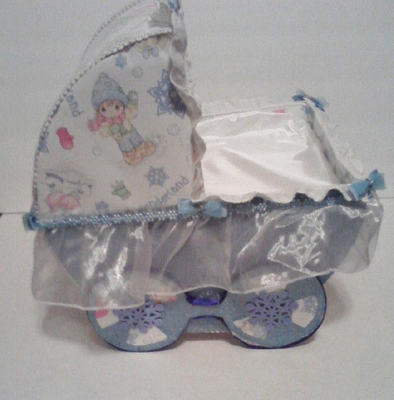 Items similar to baby carriage table centerpiece for Baby carriage decoration