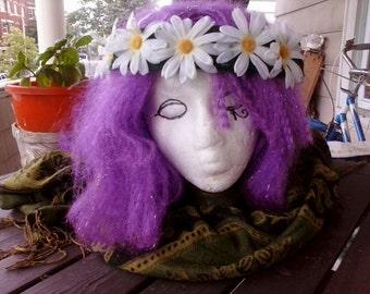 Boho Daisy Flower Crown