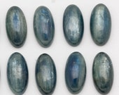 10mm x 20mm Beautiful Blue Oval Kyanite Cabochons