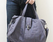 New Year SALE - 20% OFF Diamond in Gray / Messenger / Diapers bag / Tote / Hobo / Shoulder Bag / Purses / Handbags / Women / For her / Gift