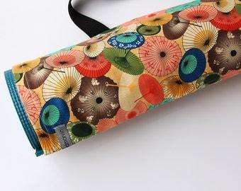 Yoga Mat Bag, Japanese Parasols, Yoga Mat Holder, Yoga Mat Sack