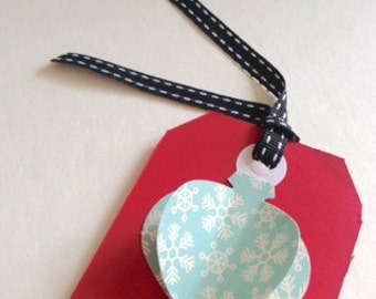 Christmas Tag Kit: DIY paper gift tags from the Sago PaperPlay series