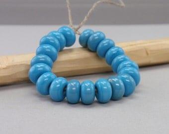 25 % off - 20 Spacer - Handmade Lampwork Beads - S 51