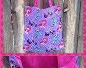 Tote bag, My Little Pony, Chevron, bag, MLP, Kids, School, Pink