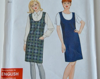 MANY REDUCED! Misses Jumper - Simplicity - 7275 Pattern - UNCUT