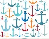 Anchor Clipart Vector Anchor Clip Art Nautical Clipart Digital Anchor Scrapbooking Invitations Marine Logo Design Sea Silhouette Clipart