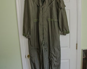 Old Military DRMC Mens Summer Flightsuit 44L