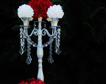 Princess Alexandra Taper Style Wedding Candelabra MADE TO ORDER