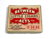 Vintage Between The Acts Little Cigars Tin