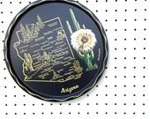 Vintage Arizona Metal Drinks Tray