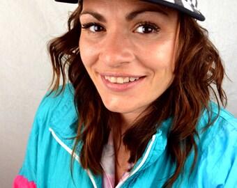 Vintage 80s Alcatraz Funny Cap Hat