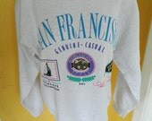 San Francisco California 1980s soft vintage sweatshirt size medium