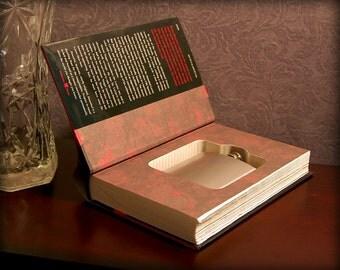 Hollow Book Safe & Flask (Hannibal)