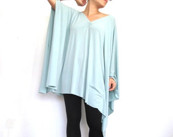 Oversize 'Sweet Thing' Tunic Top- Women long sleeve tunic top