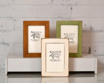 4x6 picture frame in 1x1 flat style and in finish color of your choice rustic 4x6 photo frame gallery frames 4 x 6 inch
