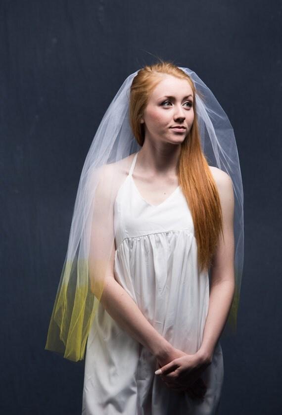 Bachelorette Veil, Custom Veil, Fingertip Veil, Ivory Wedding Veil, Long Wedding Veil, Short Wedding Veil, Waltz Veil, Custom Made Veil