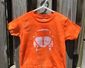 Kids Car Shirt (4T), Orange Car Shirt, Kids Beetle Shirt, Boys Car Shirt, Girls Car Shirt, Kids Volkswagen Shirt, Orange Beetle