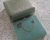 Vintage Heart Lapel Pins Van Dell