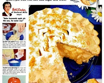 Betty Crocker Pie Etsy