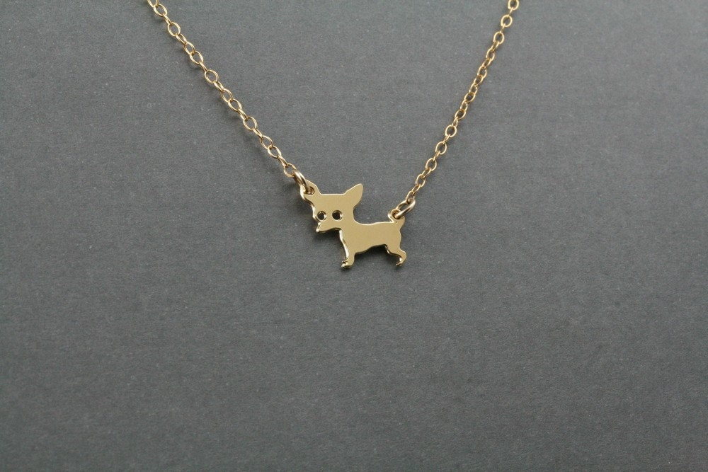 chihuahua necklace necklace charm by