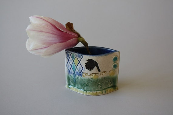 Pocket Jar with Bird