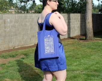 Blue Police Box/TARDIS Tote Bag